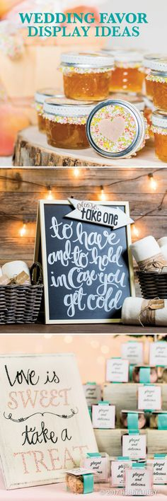 Treat your guests with unforgettable wedding favors!
