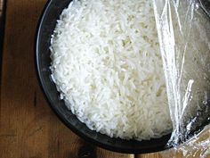 Rice Kingdom.: Cooking Sticky Rice in a Microwave