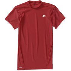 Starter Big Men's Short Sleeve Compression Short Sleeve Shirt 0.34lbs