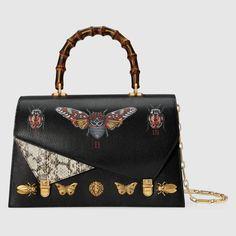 Ottilia leather top handle bag