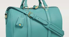 Louis Vuitton Turquoise Sofia Coppola PM Bag | Spotted Fashion