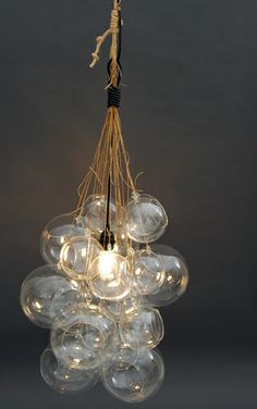 How to Make a 'Bubble' Chandelier
