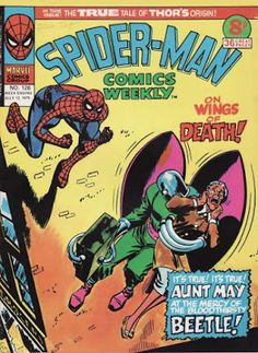 Spider-Man Comics Weekly #126, the Beetle 6/23/2016 ®....#{T.R.L.}