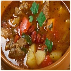 Goulash of pork