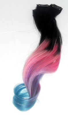 Ombre Colored Hair Extensions / P A S T E L / by ArtisicStrands, $125.00