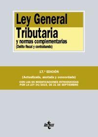 Ley general tributaria y normas complementarias : (delito fiscal y contrabando) / edición preparada por Juan Martín Queralt