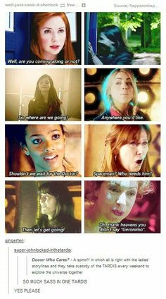 The companions all in one TARDIS