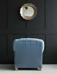 Perfect for snuggling down at the end of a long day, our Bertie armchair is the perfect reading chair. This cosy armchair makes a great companion to the rest of our Snuggle collection, especially the Albert and Hugo sofas. Bold Colors, Colours, The Rest Of Us, Velvet Armchair, Sofa Chair, Cosy, Home Accessories, Sofas, Ottoman