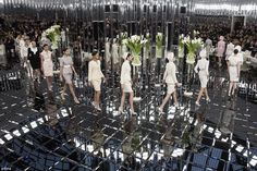 20s vibes: The Chanel head honcho took inspiration from a sculpture created by artist Albe...