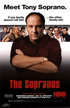 The Sopranos - James Gandolfini ~James Gandolfini - Sept 18/61 - June 19/13. Died of an apparent heart attack while on vacation in Italy. He was 51 years young. Best known for his role as mob boss, Tony Soprano on the HBO series The Sopranos