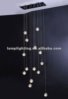 Customized rectangular base with 14pcs solid bubble glass balls pendant lamp, View solid bubble glass balls pendant lamp, Rebacca,REBECCA Pr...