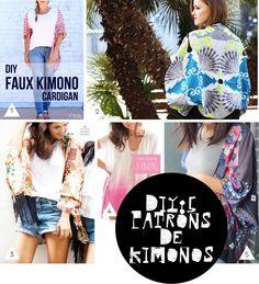 5 patrons de kimonos - Plumetis Magazine