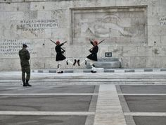 Monument of the Unknown Soldier, Syntagma
