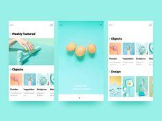 Fresh interface design