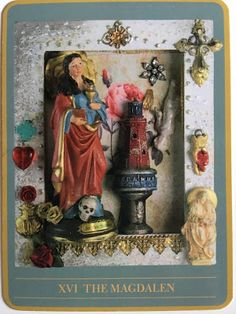 THE MYSTERIES OF MARY TAROT DECK