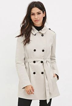 Belted Trench Coat | Forever 21 #foreverfamily