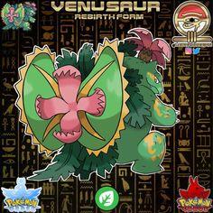 "@lewekaregion: ""Venusaur - Rebirth Form Classification: Seed Pokémon Tribe: Grass Signature Ability: Eternal…"" Pokemon Rpg, Pokemon Fake, Mega Pokemon, Pokemon Fan Art, Cute Pokemon, Grass Type, Gym Leaders, Monster Design, Game Character Design"