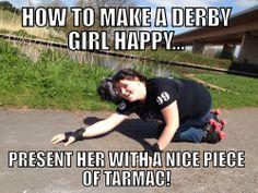We do love a nice piece of tarmac!