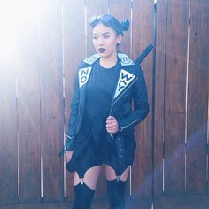 Pin for Later: Dominate Halloween in These Blogger-Approved Costumes Future Space Ninja So much black, so much leather. Love.