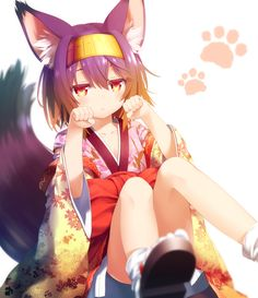 her name is Izuna? from No Game No Life