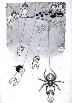 May Gibbs Children's Book Illustration, Book Illustrations, Australian Art, Black And White Illustration, Flower Fairies, Vintage Children's Books, Fairy Art, Faeries, Childrens Books