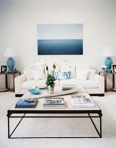 Coastal vibes in this living room design   Eddie Lee Inc