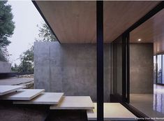 Floating concrete steps