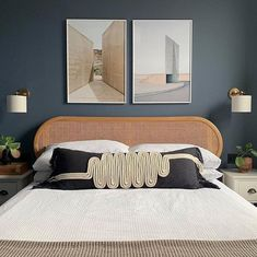 A cane bed is a chic and timeless option. Choose a French antique, Boho rustic or Mid-Century modern bed in this list of 12 stunning cane beds House Interior, Bedroom Decor, Home Remodeling, Bedroom Interior, Home, Bedroom Inspirations, Earthy Home Decor, Home Bedroom, Home Decor