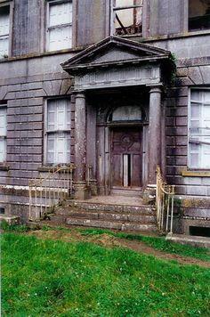 Doorway of Williamstown House, Kells, Ireland