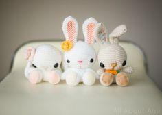 Super Cute Crochet Bunnies