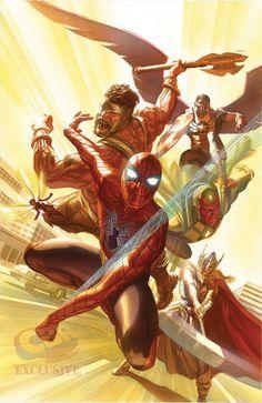 Alex Ross Avengers                                                                                                                                                                                 More