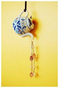 tutorial: DIY teapot suncatcher / wind chimes