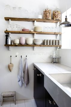 What do you think of the open shelving idea?