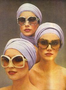 Vintage YSL sunglasses ad - Vogue May 1976