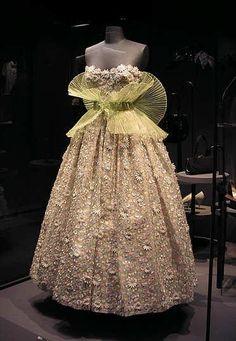 ballgown from Paris 1955