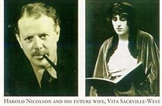 Harold Nicolson and Vita Sackville-West The great secret of a successful marriage is to treat all disasters as incidents and none of the incidents as disasters. —Sir Harold Nicolson