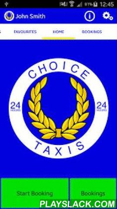 Choice Taxis Hemel Hempstead  Android App - playslack.com ,  This app allows you to book a taxi or cab from Hemel Hempstead, Berkhamsted, Tring or the surrounding villages of Dacorum. Along with the ability to:• See what taxis (cabs) are currently free• See what taxis (cabs) that will 'soon be clear'• Book your taxi (cab) directly onto our computer system• See a picture of your taxi (cab)• See a picture of your driver• Track the progress of your taxi (cab)• Include notes in your bookings •…