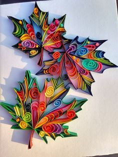 Arte Quilling, Quilling Work, Paper Quilling Patterns, Quilled Paper Art, Quilling Paper Craft, Paper Quilling Tutorial, Diy Paper Crafts, Quiling Paper, Quilling Supplies