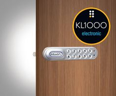 KitLock Digital Electronic Cabinet and Locker Lock - Codelocks Push Button Digital Locks Locker Designs, Keypad Lock, Digital Lock, Cupboard, Cabinet, Gym Lockers, Design Projects, Locks, Door Handles