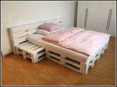 Bildergebnis für doppelbett aus paletten