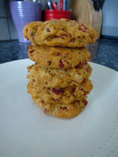 Cookie moelleux pesto-chorizo