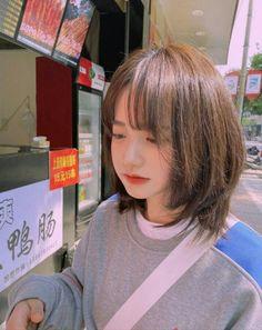 Girl Short Hair, Short Hair Cuts, Medium Hair Styles, Curly Hair Styles, Korean Short Hair, Japanese Short Hair, Ulzzang Hair, Shot Hair Styles, Ombre Hair Color