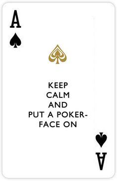 Disco poker face