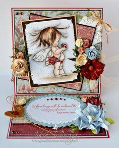 Mo Manning Fairy Friendship Card by MyAdoredAdorables on Etsy, £8.50