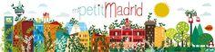 vireta: ilustración  Mi petit Madrid en primavera
