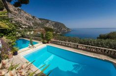 The bay is your view! #Eze  Superb location for this beautiful character house of about 350 m2 living space on 2 levels on a land of 1167m2. This home features an elegant living and dining rooms with large windows opening onto a terrace, a magnificent sea view from every room, a raised and flowered Mediterranean garden, https://aiximmo.ch/?p=210596  #frenchriviera #cotedazur #mallorca #marbella #sainttropez #sttropez #nice #cannes #antibes #montecarlo #estate #luxe #prov