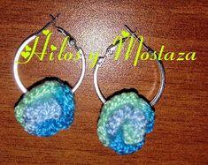 Accesorios en crochet hechos 100% a mano Crochet Earrings, Drop Earrings, Jewelry, Facts, Tejidos, Accessories, Jewlery, Bijoux, Jewerly