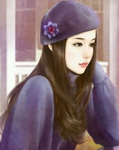 Like Beauty Life fo Keep Cover Beautiful Chinese Girl, Beautiful Anime Girl, Chinese Drawings, Chinese Art, Lovely Girl Image, Cute Cartoon Girl, China Girl, Digital Art Girl, Girly Pictures