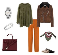 """""""3.1"""" by kryli4ka on Polyvore featuring мода, Victoria, Victoria Beckham, Chicwish, Yves Saint Laurent, Gucci, Blue Nile и Hermès"""