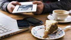 Internet , tea -  necessities of modern life
